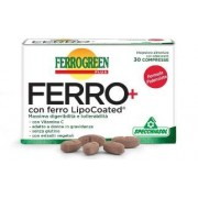Specchiasol srl Ferrogreen Plus Ferro+ 30cpr