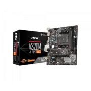 Placa De Baza MSI A320M-A PRO, AM4, 2* DDR4, DVI/HDMI, mATX