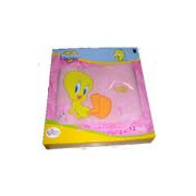 Tweety Notebook Bag 12 inch Colour: Pink