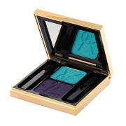 YSL Ombres Duolumieres Eye Shadow Duo N. 25 Bleu Turquoise - Violet Nebuleux