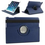 Apple iPad 2, 3, 4 - 360graden draaibare Hoes - Lederen - Donker Blauw