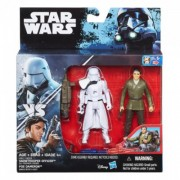 SW Snowtrooper Officer and Poe Dameron