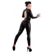 LATE X Latex Catsuit schwarz S