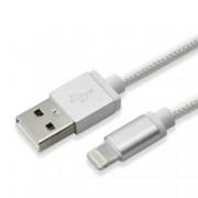 Кабел SBOX, USB A(м) към Lightning(м), 1,5m, сребрист