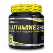 Biotech USA Glutamine Zero 300 g - Ice Tea Pêssego