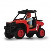 Giocattolo modellino auto quad buggy con personaggio ranger simba toys dickie