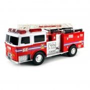 Masina pompieri Fire Truck, girofar, telecomanda