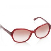 Vogue Over-sized Sunglasses(Red)