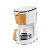 Cafetiera Heinner HCM-WH900BB, 900 W, 1.25 L, filtru detasabil, anti-picurare, oprire automata, alba