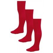 Next School Tights Three Pack (3-16yrs) - Red