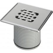Viega Advantix Aufsatz 555245 150x150mm, Edelstahl