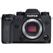 Fujifilm Systemkamera Fujifilm X-H1 Hus, inkl. Batteri 24.3 Megapixel Svart Full HD Video, Bluetooth, Blixtskon