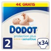 Dodot Pañales Dodot Sensitive T2 34 Uds