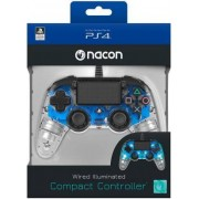 Nacon PS4 Nacon Wired Illuminated Compact Controller Light Edition - Blue