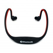 Audifonos Bluetooth Manos Libres V4.1 Estéreo Handfree Del Deportivos Del Neckband De La Música De La Ayuda TF Tarjeta Micro Del SD Para Todos Los Teléfonos (rojo)