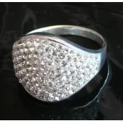 Stříbrný prsten Big Round