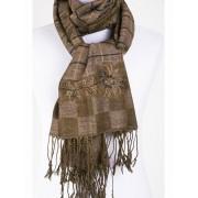Bruin-beige Pashmina sjaal