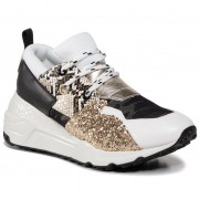 Сникърси STEVE MADDEN - Cliff SM11000185-04005-124 White/Gold