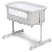Moweo 2in1 Bedside Crib, Ljusgrå