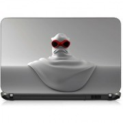 VI Collections WHITE SOLID IN COOLING pvc Laptop Decal 15.6
