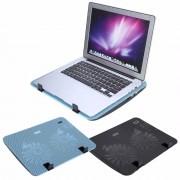 "Super Stille Laptop Koeler Cooling Pad Base Verstelbare Speed USB 2 Fans Stand voor 12 ""-16"" Notebook YOSOO"