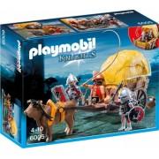 Cavaleri soim cu trasura camuflata Knights Playmobil