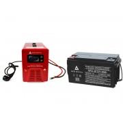 Zestaw zasilania awaryjnego Sinus-850PRO 850W + AKU 60Ah 12V VRLA AGM