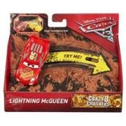 Masinuta Disney Pixar Cars 3 - Crazy 8 Crashers Lighting Mcqueen