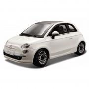 Bburago Schaalmodel Fiat 500 wit 1:24
