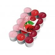 Lumanari tip pastila parfumate trandafir 30/set 4h