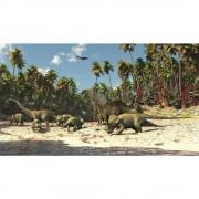 Overige Merken Posterbehang Dinosaurus L