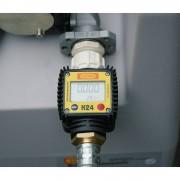 CEMO Durchflusszähler für DT-Mobil Easy 430 l, 460 l und 600 l für Elektropumpe 12 V und 24 V, 40 l/min