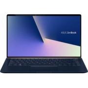 Ultrabook ASUS ZenBook 14 Intel Core (8th Gen) i5-8265U 256GB SSD 8GB Win10 Pro FHD Tastatura ilum. Royal Blue Metal Bonus Geanta Laptop ASUS Nereus