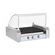 Hot Dog Grill - 11 rollers - Teflon