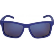 Polaroid Rectangular Sunglasses(Blue)