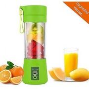 Zahab Plastic Portable USB Fruit Juicer Blender Mixer Grinder Rechargeable