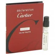 Cartier Declaration Essence Vial (Sample) 0.05 oz / 1.5 mL Men's Fragrance 516196