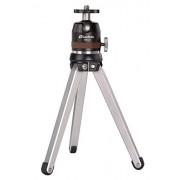 LEOFOTO MT-01 Mini Tripod + MBH-19 Ball Head All Metal w Independent Pan Lock
