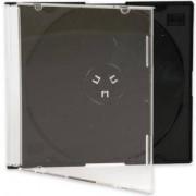 CD-BOX Тънки черни за 1 CD (slim box black) - в кашон 200 броя