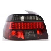 Set fari fanali posteriori TUNING BMW Serie 5 E39 berlina 1995-2000 LED rosso nero