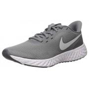 Nike Revolution 5 Zapatillas de Correr para Mujer, Gris Fresco/Platino Puro Gris Oscuro, 6 US