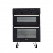 Hotpoint DU2540BL Double Built Under Electric Oven - Stainless Steel
