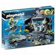 Playmobil Top Agents 3 - Centro De Mando Del Dr Drone - 9250