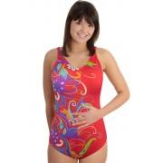 Ibiza Fresh dámské jednodílné plavky L světle červená