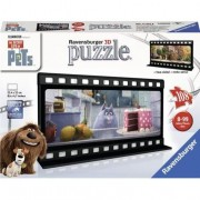 Puzzle 3D Ravensburger - The Secret Life of Pets, 108 piese (11212)
