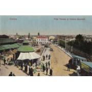 Craiova, 1917, Piata Marseu, poster 595 x 420 mm