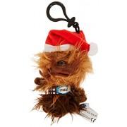 "Underground Toys Star Wars Mini Santa Chewbacca Talking 4"" Plush"