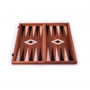Луксозна дървена табла и шах Manopoulos, 48 х 50 см
