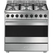 Smeg B91GMXI9 cucina Piano cottura Acciaio inossidabile Gas A