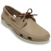 Crocs Beach Line Boat Shoe For Men(Brown)